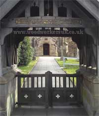 Corpse gate more commonly called a Lych gate