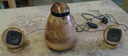 Oak speaker system