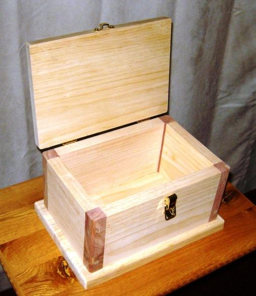 how to make a wooden box blueprints