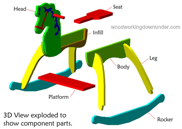 best rocking horse plans
