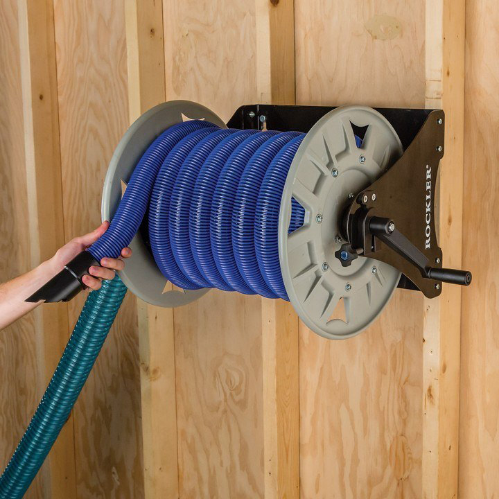 Shop Vacuum Hose Reel Woodworking Network