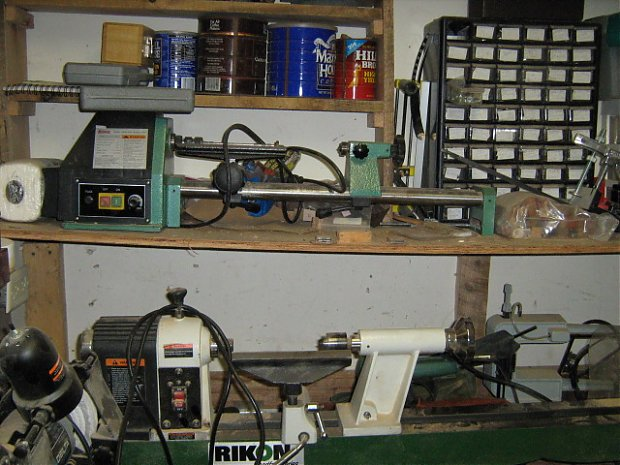 Small Wood Lathe