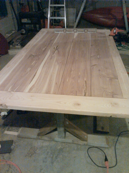 Rustic Look Dining Table