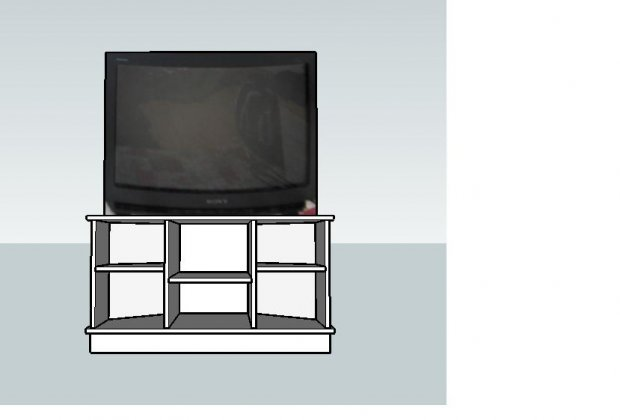 woodworking plans corner tv stand
