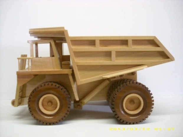 Build DIY Free woodworking plans toy trucks PDF Plans Wooden wood ...