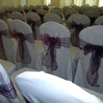 Chair covers and aubergine sash (10)