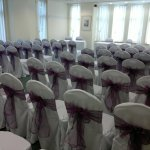 Chair covers and aubergine sash (7)