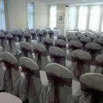 Chair covers and aubergine sash (8)