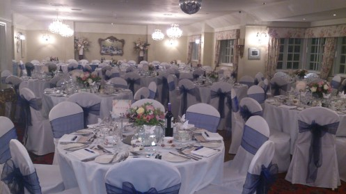 Swettenham Arms venue dressing
