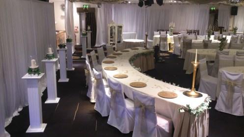 Grecian wedding Cheshire