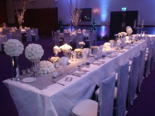 Carden Park wedding venue dressing