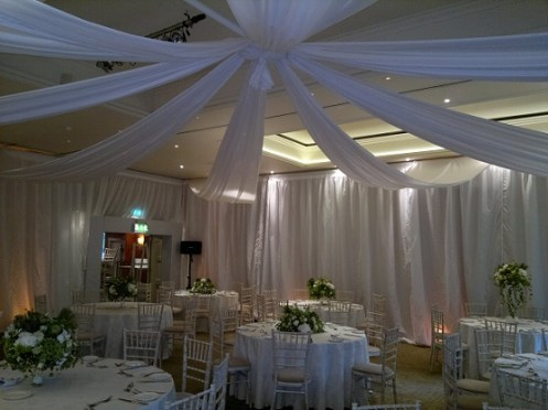 Venue dressing at Mere Resort