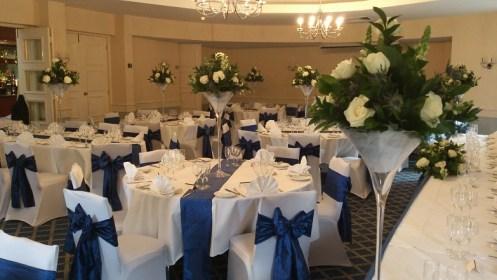 Stanneylands wedding venue dressing