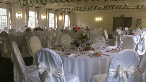Venue dressing at Quarry Bank Mill