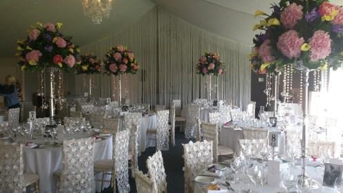 Combermere Abbey Wedding venue dressers
