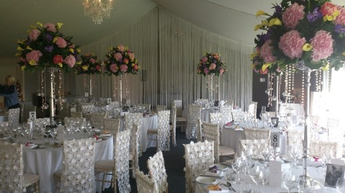 Combermere Abbey Wedding venue dressers