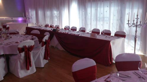 Crosby Lakeside Centre wedding