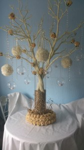 Gold and ivory tree