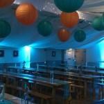 Grappenhall Community Social Club wedding venue dressing