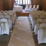 Worsley Court House Venue Dressing