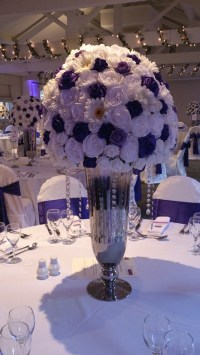 Rose centrepieces