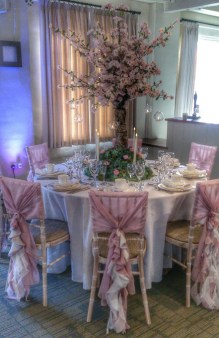 wedding centrepiece tree