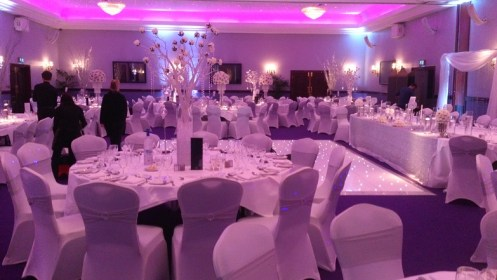Venue dressers for Carden Park weddings