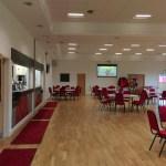 Community sports hall