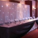 Star cloth backdrop
