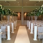 mere resort and spa wedding ceremony decorations