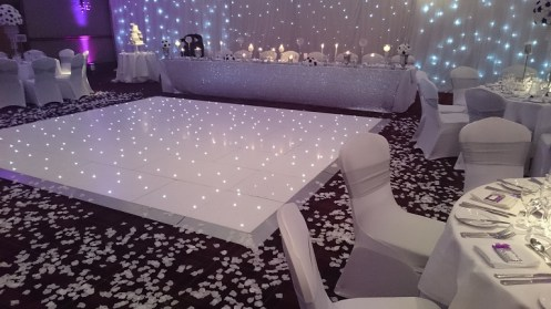 dance floor hire for Carden Park
