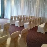 Rookery Hall wedding venue draping
