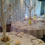 Wedding Drapes at Rookery Hall