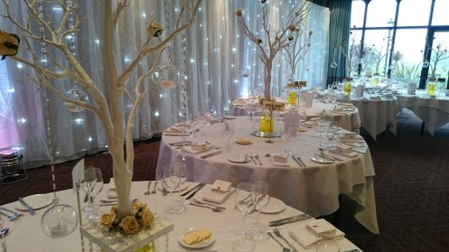 Wedding Drapes at Rookery Hall