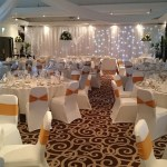 Haydock Park Hotel wedding venue dressing