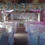wedding venue dressing