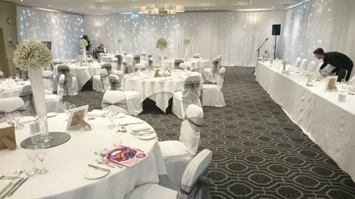 wedding venue dressing cheshire