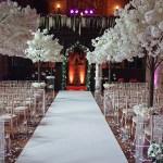 Blossom tree ceremony decor