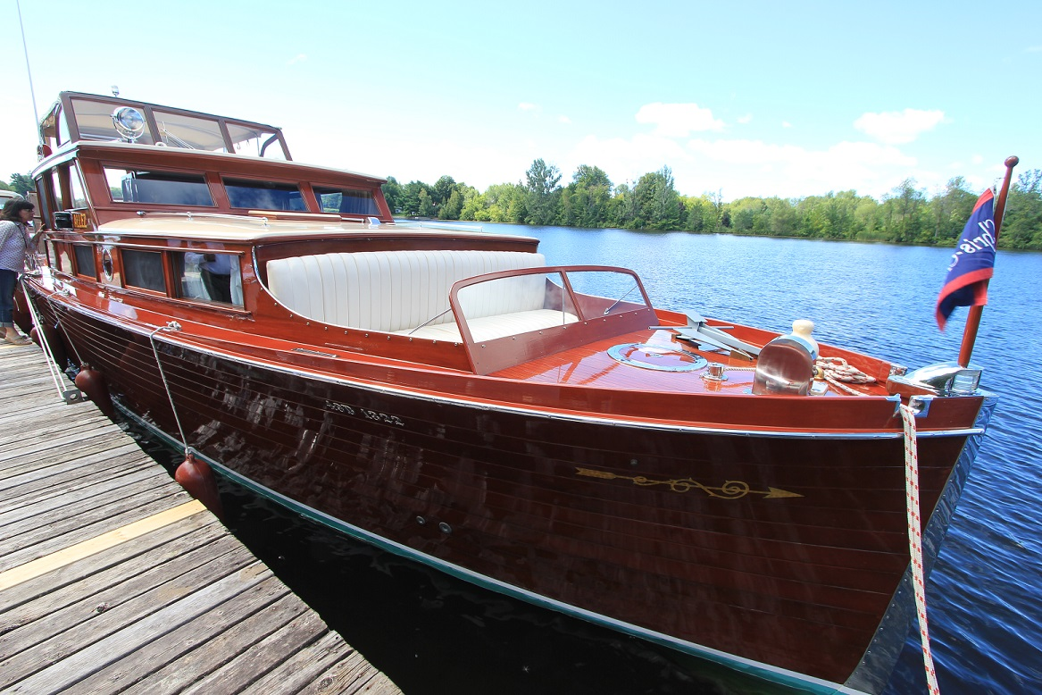 The Manotick Classic Boat Club Had Something For Everybody