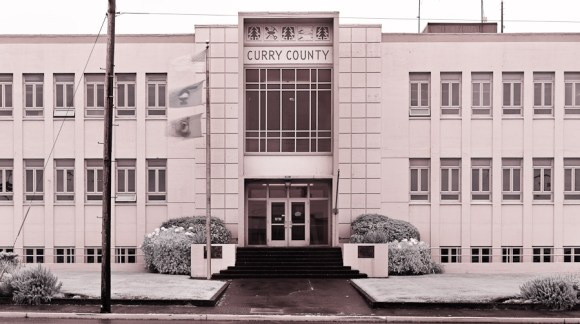 Curry County Courthouse, Gold Beach, Oregon