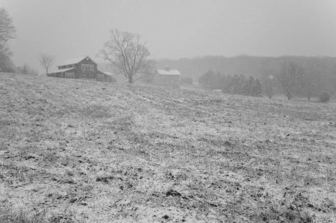 Snowstorm Litchfield County