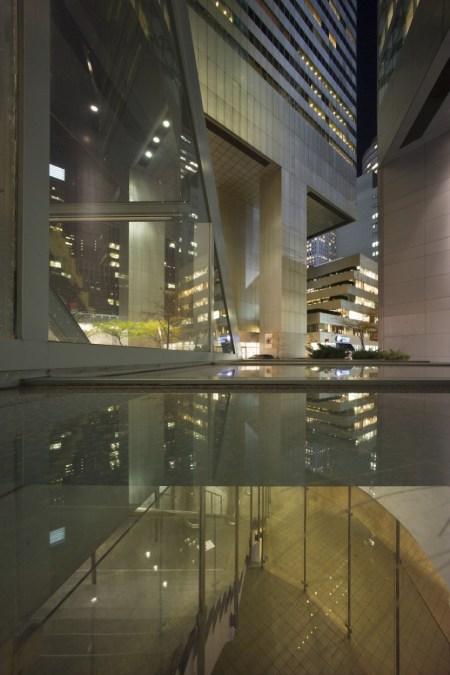 Citcorp Center at night