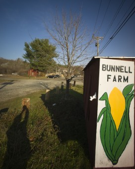 Bunnell Farm stand Litchfield Connecticut