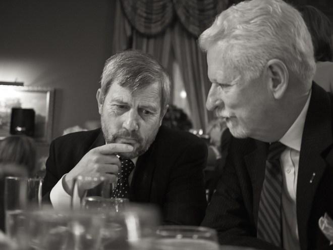 Karl Marlantes and Woody Campbell