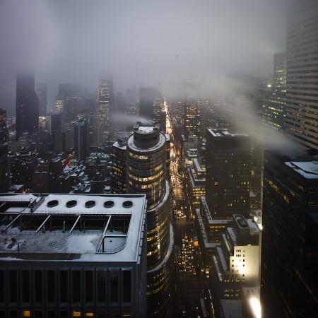 Storm on Third Avenue