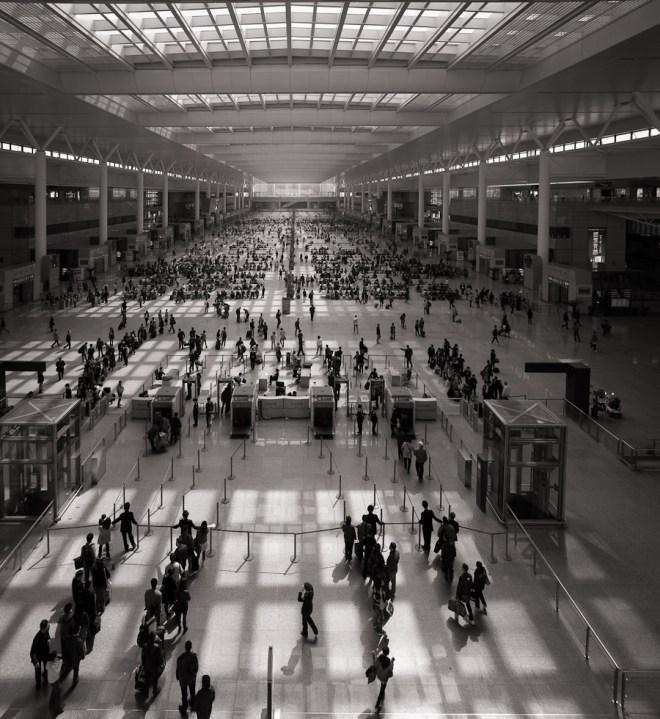 Hongqiao rail station Shanghai