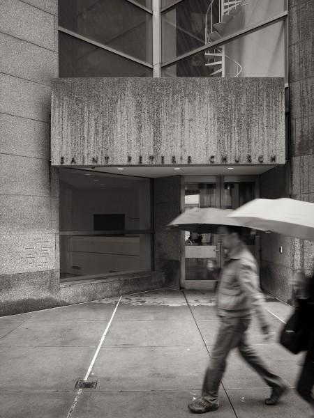 It rains on Lexington Avenue