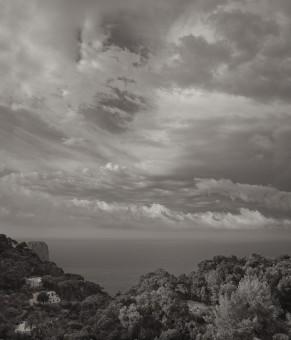 A rare overcast day