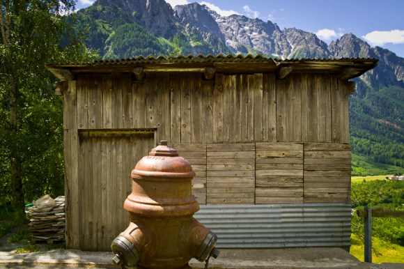 Hydrant!  Nothing is too much trouble for the Swiss