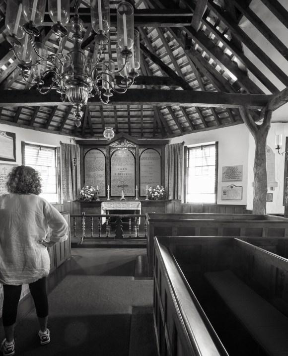 Oldest church interior